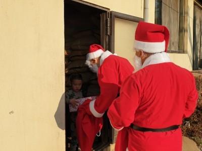 우리동네 사랑의 몰래 온 산타
